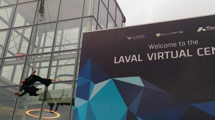 Inauguration Laval Virtual Center
