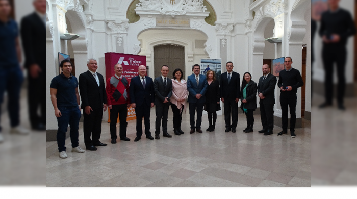 Arts et Métiers welcomes a delegation from Mexico