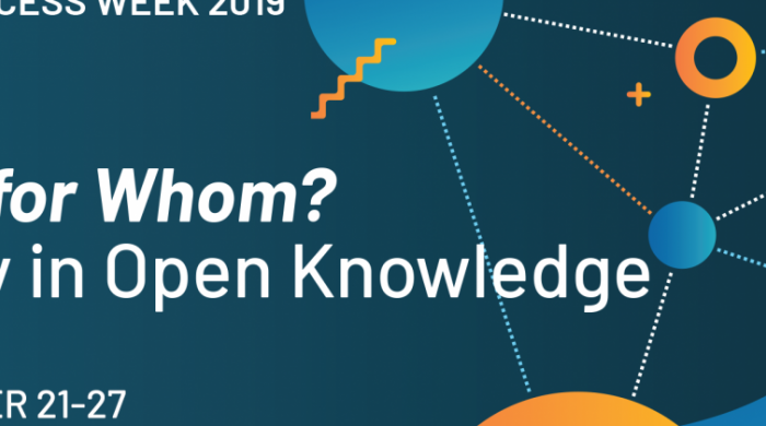 Bandeau Open Access Week 2019